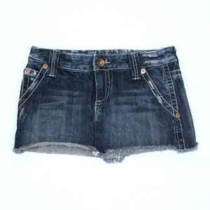 Jean Mini Skirt {Billabong}
